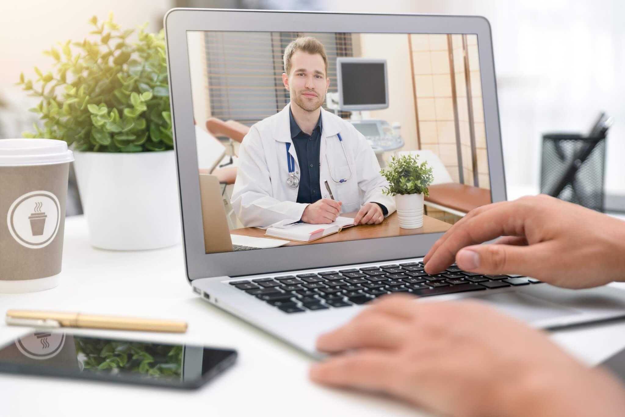The rise of telemedicine due to coronavirus
